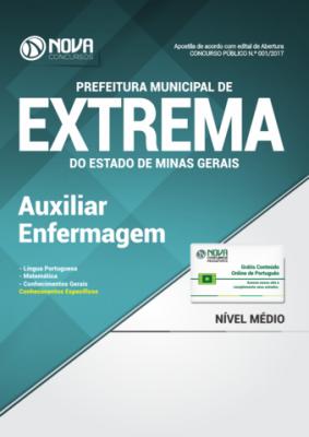 Apostila Prefeitura de Extrema-MG - Auxiliar de Enfermagem