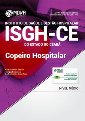 Apostila ISGH-CE - Copeiro Hospitalar