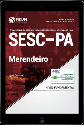 Download Apostila SESC-PA PDF - Merendeiro