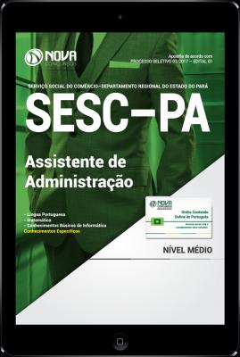 Download Apostila SESC-PA PDF - Assistente de Administração