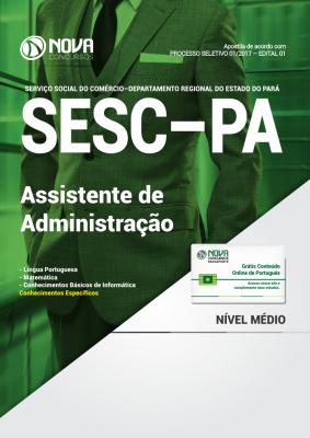Apostila SESC-PA - Assistente de Administração