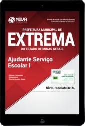 Download Apostila Prefeitura de Extrema-MG PDF - Ajudante de Serviço Escolar I