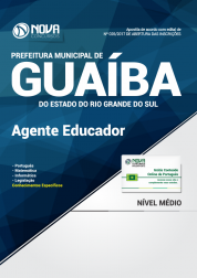 Apostila Prefeitura de Guaíba-RS - Agente Educador