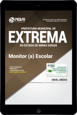 Download Apostila Prefeitura de Extrema-MG PDF - Monitor (a) Escolar
