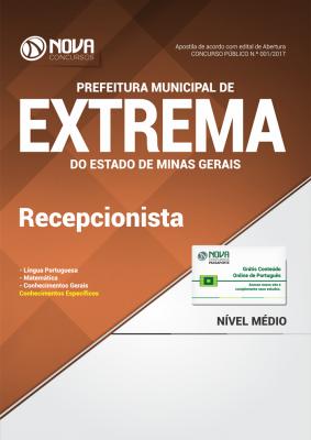 Apostila Prefeitura Municipal de Extrema-MG - Recepcionista