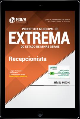 Download Apostila Prefeitura Municipal de Extrema-MG PDF - Recepcionista