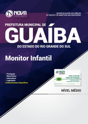 Apostila Prefeitura de Guaíba-RS - Monitor Infantil