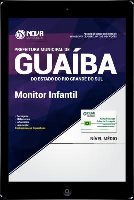 Download Apostila Prefeitura de Guaíba-RS PDF - Monitor Infantil