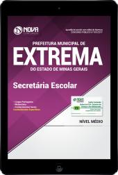 Download Apostila Prefeitura Municipal de Extrema-MG PDF - Secretária Escolar