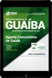 Download Apostila Prefeitura de Guaíba-RS PDF - Agente Comunitário de Saúde