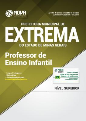 Apostila Prefeitura Municipal de Extrema-MG - Professor de Ensino Infantil