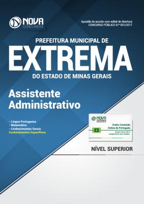 Apostila Prefeitura Municipal de Extrema-MG - Assistente Administrativo