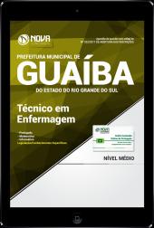 Download Apostila Prefeitura de Guaíba-RS PDF - Técnico em Enfermagem