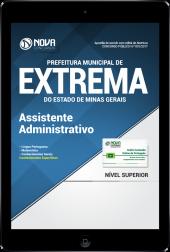 Download Apostila Prefeitura Municipal de Extrema-MG PDF - Assistente Administrativo