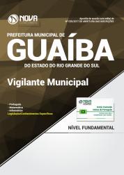 Apostila Prefeitura de Guaíba-RS - Vigilante Municipal