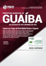 Apostila Prefeitura de Guaíba-RS - Comum aos Cargos de Nível Médio, Técnico e Superior