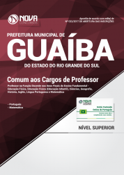 Apostila Prefeitura de Guaíba-RS - Comum aos Cargos de Professor