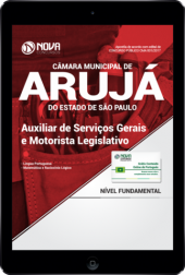 Download Apostila Câmara Municipal de Arujá-SP PDF - Auxiliar de Serviços Gerais e Motorista Legislativo