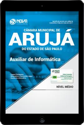 Download Apostila Câmara Municipal de Arujá-SP PDF - Auxiliar de Informática