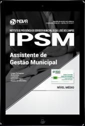 Download Apostila IPSM-SP PDF - Assistente de Gestão Municipal