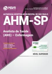 Apostila AHM-SP - Analista de Saúde (ANS) - Enfermagem