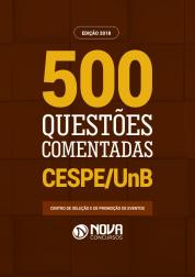 Livro de Questões - 500 Questões do CESPE