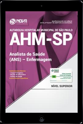 Download Apostila AHM-SP PDF - Analista de Saúde (ANS) - Enfermagem