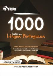 1000 Testes de Língua Portuguesa