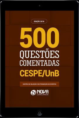 Download Livro de Questões - 500 Questões do CESPE PDF
