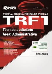 Combo TRF1 - Curso Online TRF 1ª Região - Técnico Judiciário - Área: Administrativa + Apostila Impressa