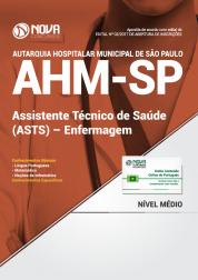 Apostila AHM-SP - Assistente Técnico de Saúde (ASTS) - Enfermagem
