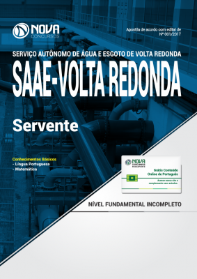 Apostila SAAE Volta Redonda-RJ - Servente