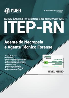 Apostila ITEP-RN - Agente de Necropsia e Agente Técnico Forense