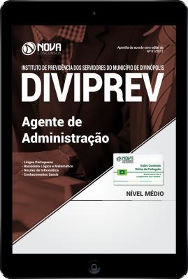 Apostila Prefeitura de Divinópolis 2017 PDF - Agente de Administração (DIVIPREV)