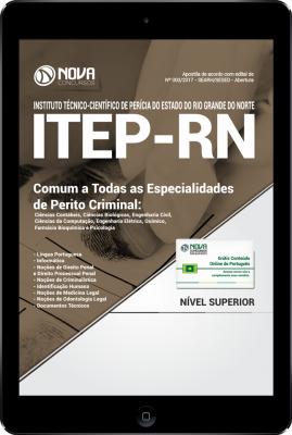 Download Apostila ITEP-RN PDF - Comum a Todas as Especialidades de Perito Criminal