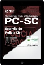 Download Apostila PC SC PDF - Escrivão de Polícia Civil