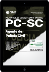 Download Apostila PC-SC PDF - Agente de Polícia Civil