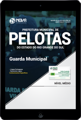 Download Apostila Prefeitura Municipal de Pelotas-RS PDF - Guarda Municipal