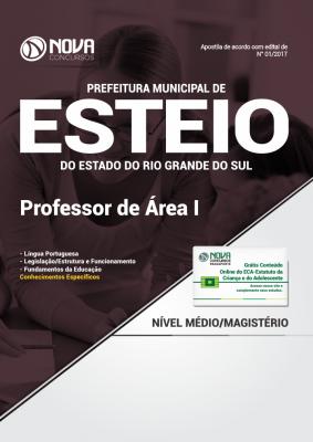 Apostila Prefeitura Municipal de Esteio-RS - Professor de Área I