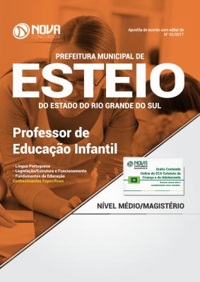 Apostila Prefeitura Municipal de Esteio-RS - Professor de Educação Infantil