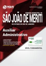Apostila Câmara Municipal de São João de Meriti-RJ - Auxiliar Administrativo