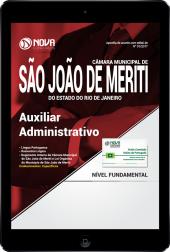 Download Apostila Câmara Municipal de São João de Meriti-RJ PDF - Auxiliar Administrativo