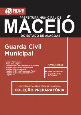 Apostila Prefeitura Municipal de Maceió-AL - Guarda Civil Municipal