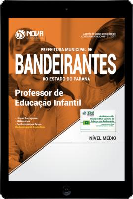 Download Apostila Prefeitura de Bandeirantes-PR PDF - Professor de Educação Infantil